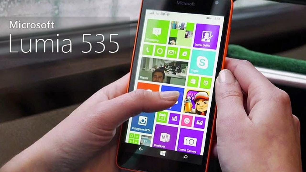 Microsoft Lumia 535 Pazarda Lider Oldu!!!