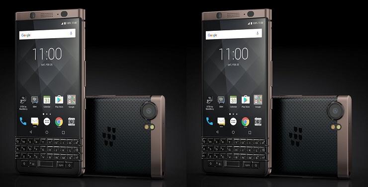 CES 2018: BlackBerry KeyOne Bronz Edition tanıtıldı!