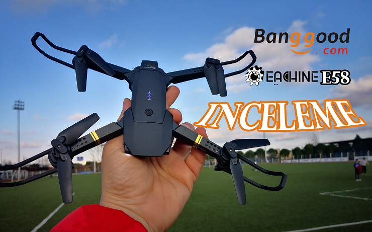 Cebimizden Küçük Eachine E58 Drone İnceleme