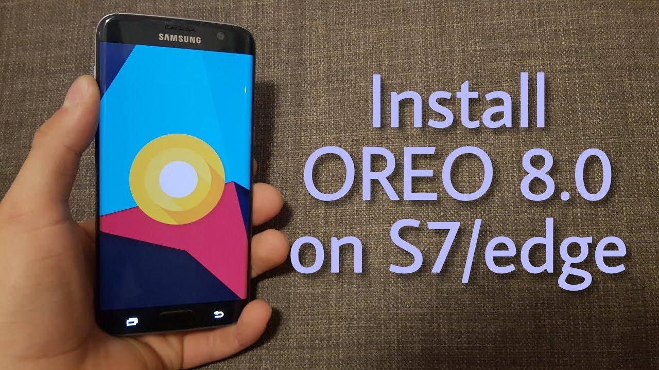 S7 Oreo Root – Idées d'images à la gateau
