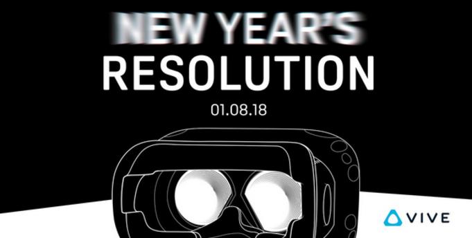 HTC Vive 2018 CES 2018'de Karşımıza Çıkacak!