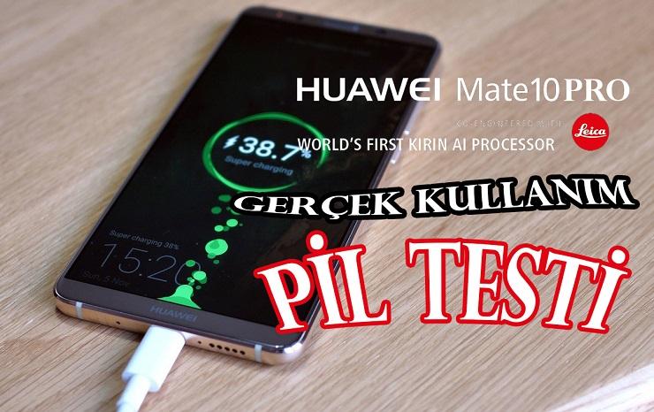 Huawei Mate 10 Pro Gerçek Kullanım Pil Testi! Biz Şok, Biz Manşet!!!