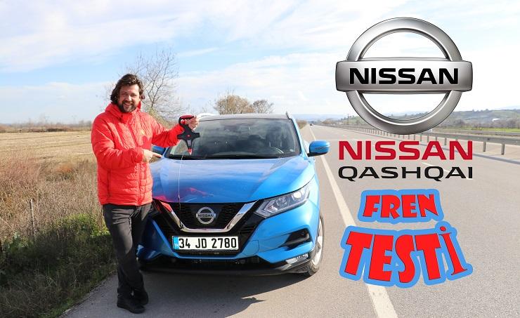 Nissan Qashqai Fren Testi! Dünyada Bir İlk Daha!!!