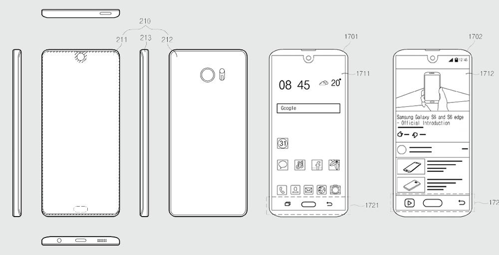 Samsung iPhone X Gibi Bir Telefon mu Hazırlıyor?
