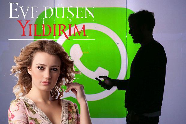 Eve Düşen Yıldırım! WhatsApp Canlı Yer Paylaşımı!!!!