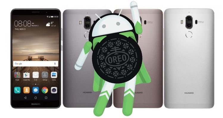 Huawei Mate 9 Android Oreo Güncellemesini Aldı!