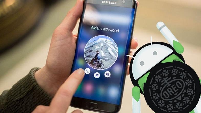 Galaxy S7 edge Android Oreo çalıştırırken görüntülendi [Video]