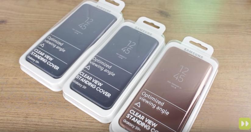 Galaxy S9 Plus Clear View Kılıf Ortaya Çıktı [Video]