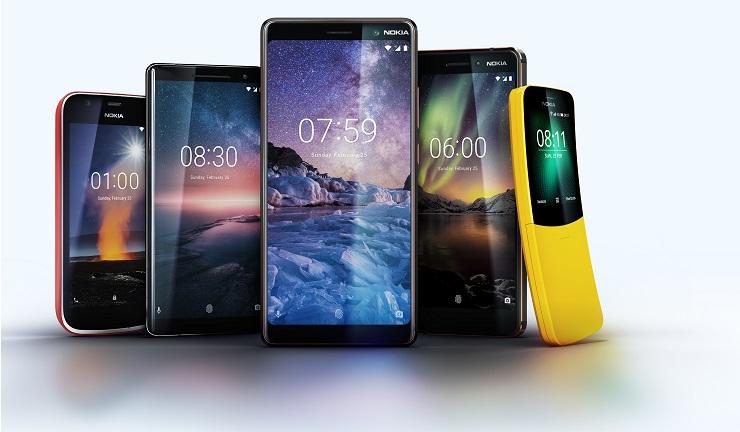 MWC2018 Nokia 8 Sirocco Nokia 7 Plus ve Nokia 6 2018 Tanıtıldı. İşte Fiyatlar