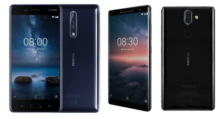 MWC2018 Nokia 8 ve Nokia 8 Sirocco Özellik Karşılaştırma