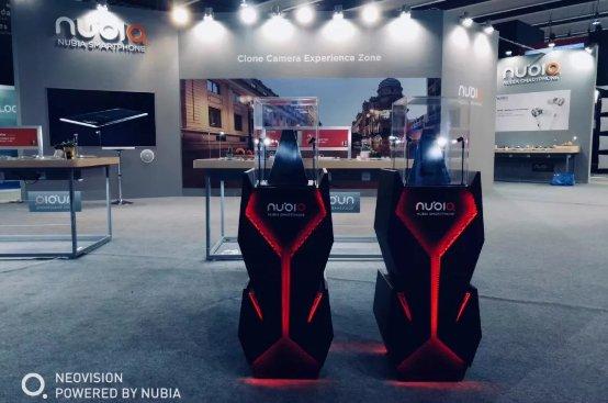 MWC2018 Nubia Oyun Telefonu Bir Spor Araba Gibi Tasarlanmış!