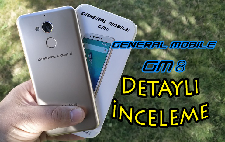 General Mobile GM 8 inceleme [Video]