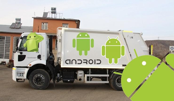 Google Android Platformu Çöplük Haline mi Geliyor?