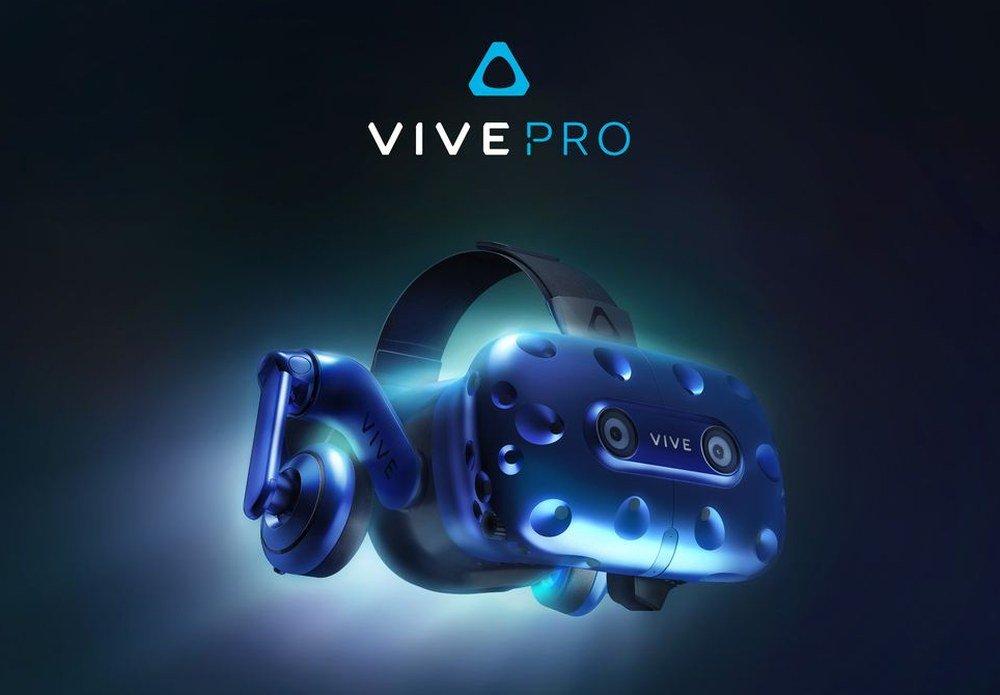 HTC Vive Pro Ön Sipariş Süreci Başladı! HTC Vive Pro Fiyatı da Belli Oldu!