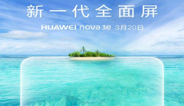 Çentiğe Selam Olsun! Huawei Nova 3e Geliyor!!! [Video]