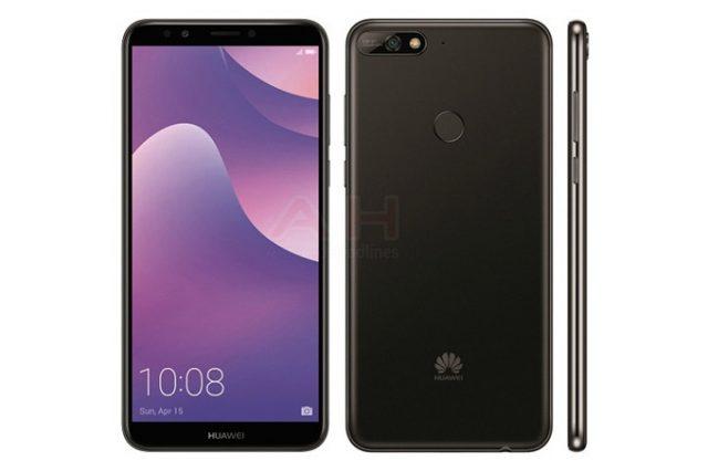 Huawei Y7 2018 Göründü