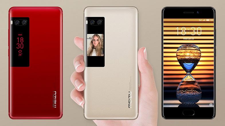 Çift ekran ve çift arka kameralı Meizu Pro 7 Plus Türkiye'de satışa sunuldu