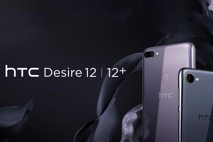 HTC Desire 12 ve Desire 12 Plus Tüm Resmi Görüntüleri