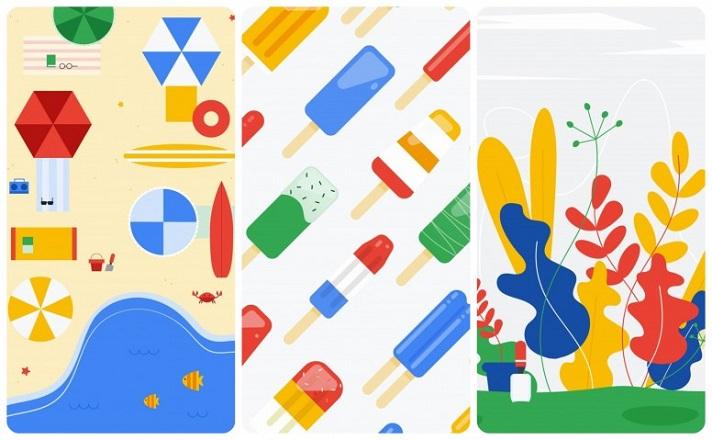 Google bahar 2018 duvar kağıtları yayımlandı! Android P ismi belli oldu mu?