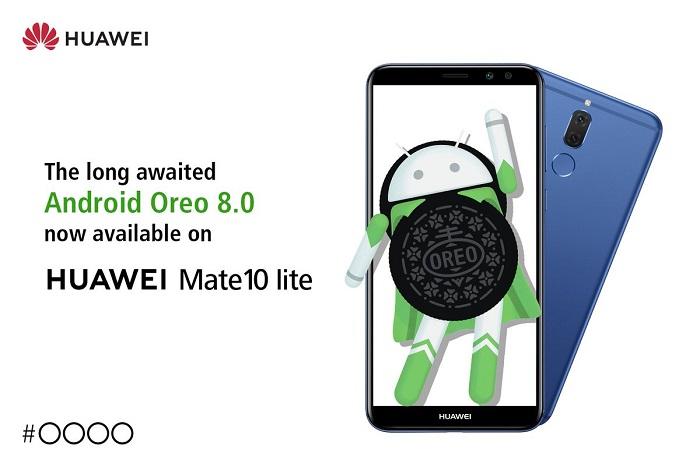 Huawei Mate 10 Lite Android Oreo