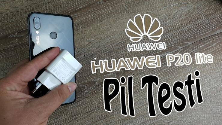Huawei P20 Lite Gerçek Kullanım Pil Testi!