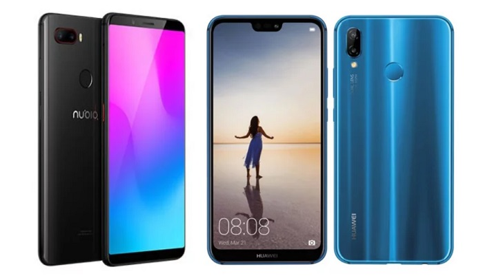 Nubia Z18 Mini ve Huawei P20 Lite