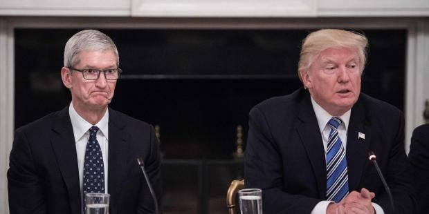 Tim Cook Donald Trump ile ne görüştü? Sıkıntı Büyük Reis!!!
