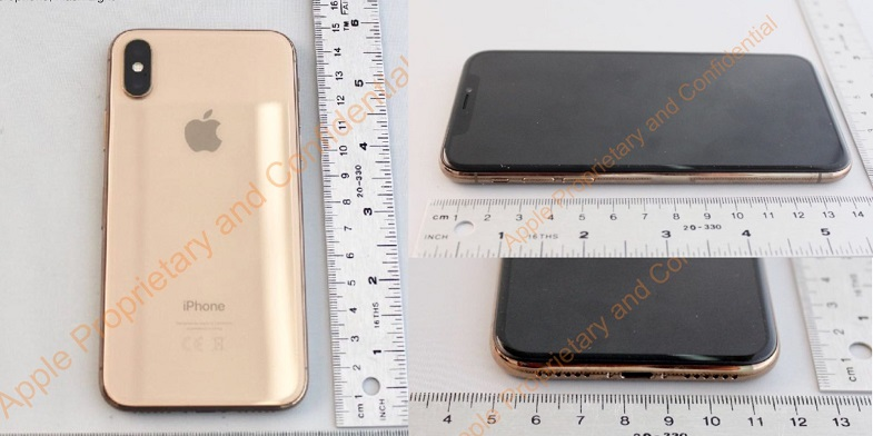 iPhone X altın