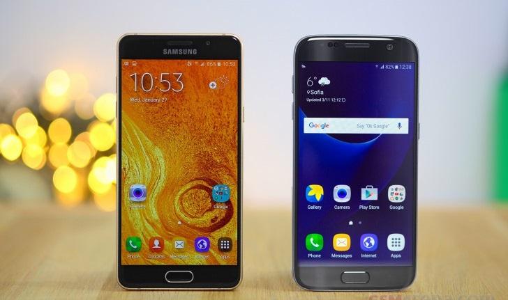 Galaxy S7, Galaxy A5 2016 ve Galaxy A7 2016 için yeni güncellemeler başladı