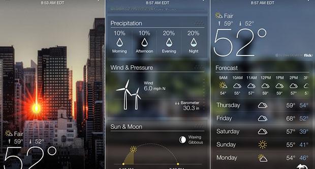 Android İçin En İyi Hava Durumu Uygulamaları