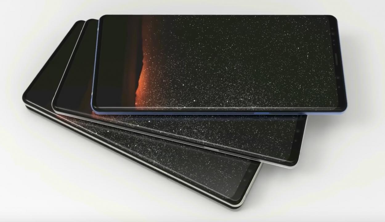 Samsung 2016 yılında çerçevesiz ekran tasarımını düşünmüş!