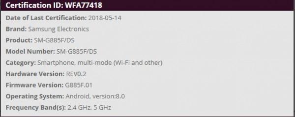 Galaxy A8 Star teknik özellikler