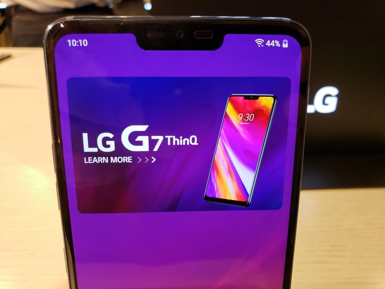 LG CEO'su LG G7 ThinQ çentiği ile ilgili konuştu! Biz taklitçi değiliz!