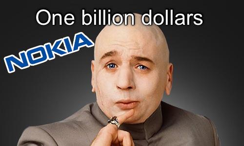 Nokia 1 milyar dolar yatırım aldı! Bu paraya neler yapılmaz?