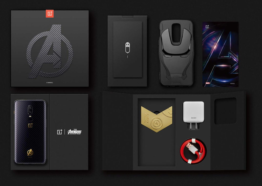 Carbon Fiber OnePlus 6 Avengers Infinity War Edition ile tanışın!