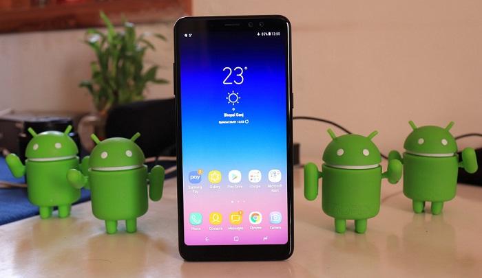 Galaxy A8 Plus için Android 9 Pie güncellemesi başladı