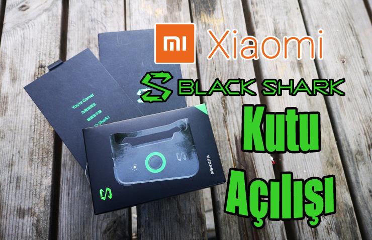 Dünyanın en güçlü telefonu Xiaomi BlackShark Kutu Açılışı!!!