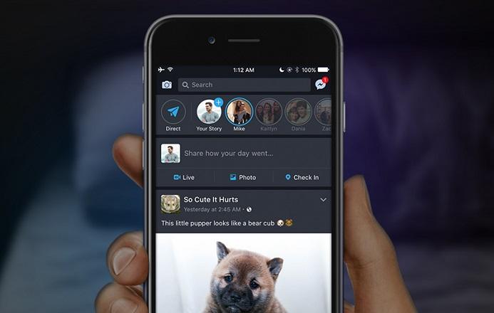 Facebook karanlık mod (gece modu) nasıl etkinleştirilir?