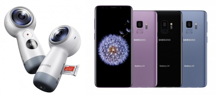 Galaxy S9 ve Galaxy S9 Plus alana Gear 360 bedava!!!