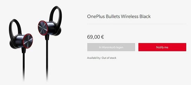 OnePlus kablosuz kulaklık