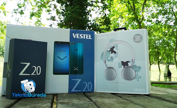 Vestel Venus Z20 Kutu Açılışı! İlk değil ama en kapsamlısı!