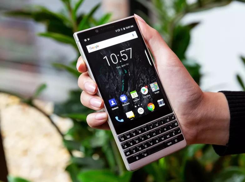 Karşınızda Zarif Bir Görünüme Sahip BlackBerry Key2