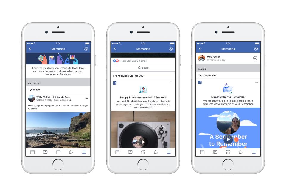 Facebook, Geçmiş Anıları Bulabileceğiniz Facebook Memories'i Kullanıma Sundu!!