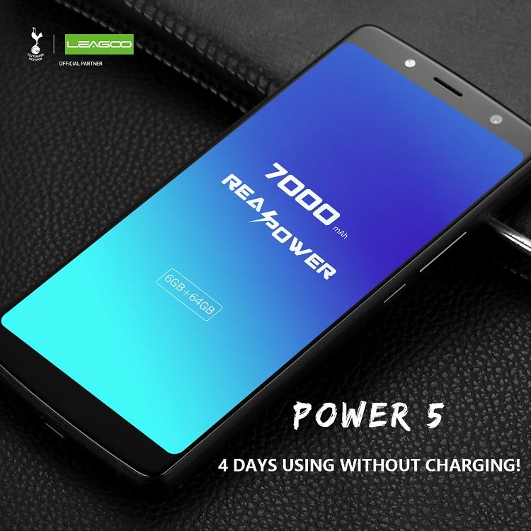 Telefonu şarja takmayı unutacaksınız! Leagoo Power 5, 4 gün pil süresi vaat ediyor