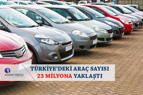 Türkiye'deki araç sayısı