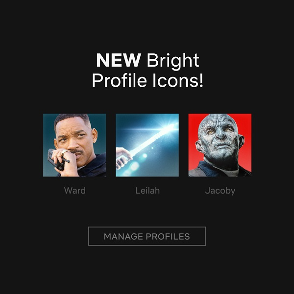 Netflix profil