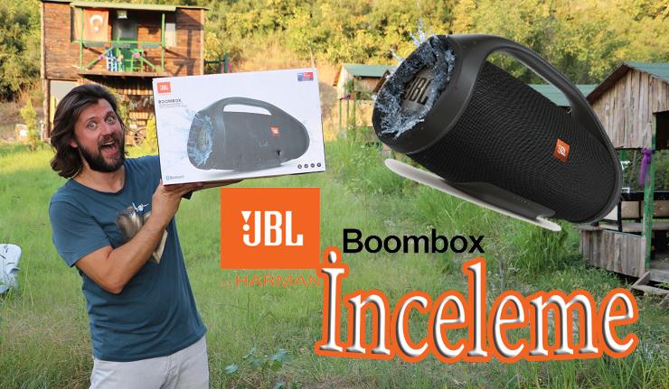 JBL BoomBox inceleme! 1990'ların ruhu asla ölmez :D