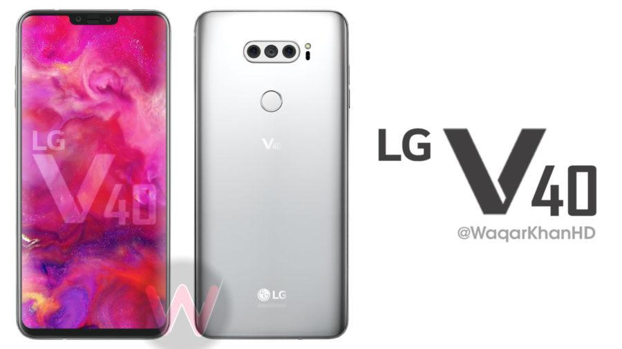 LG V40 konsept görüntüleri yayınlandı! Daha az çentik daha fazla ekran!