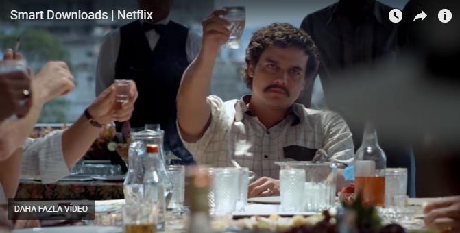 """Netflix akıllı indirme özelliği ile karşımızda! """"Kotam doldu"""" derdi yok!"""