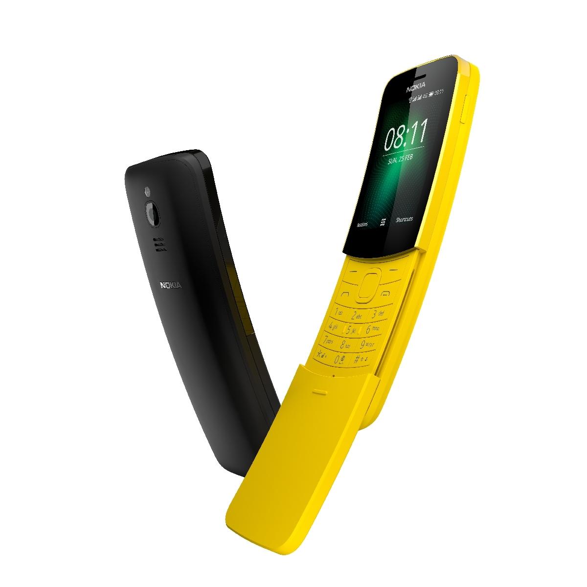 Nokia 8110 4G'ye WhatsApp Geliyor!